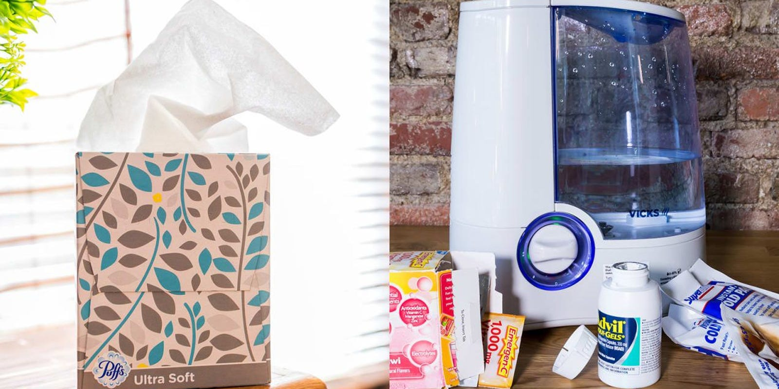 10 products to always have at home in case you get sick