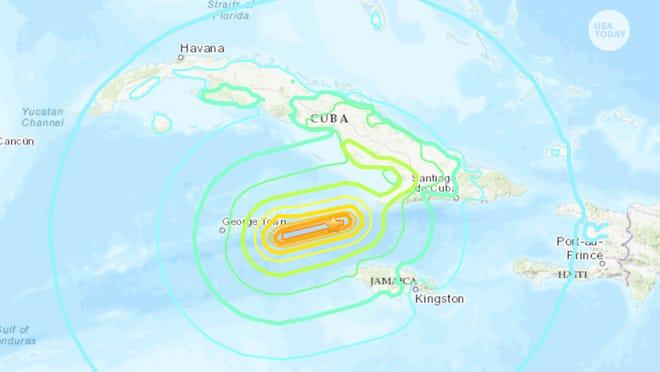 7.7 quake hits Caribbean, Cayman Islands