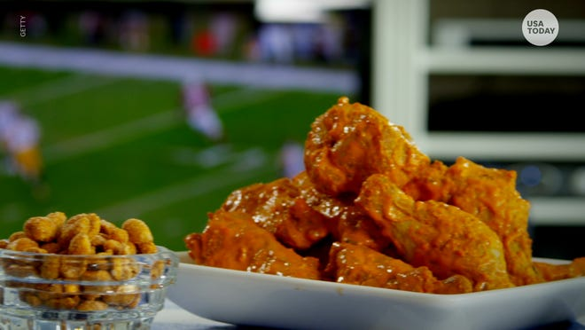 Chicken wings are MVP of game day