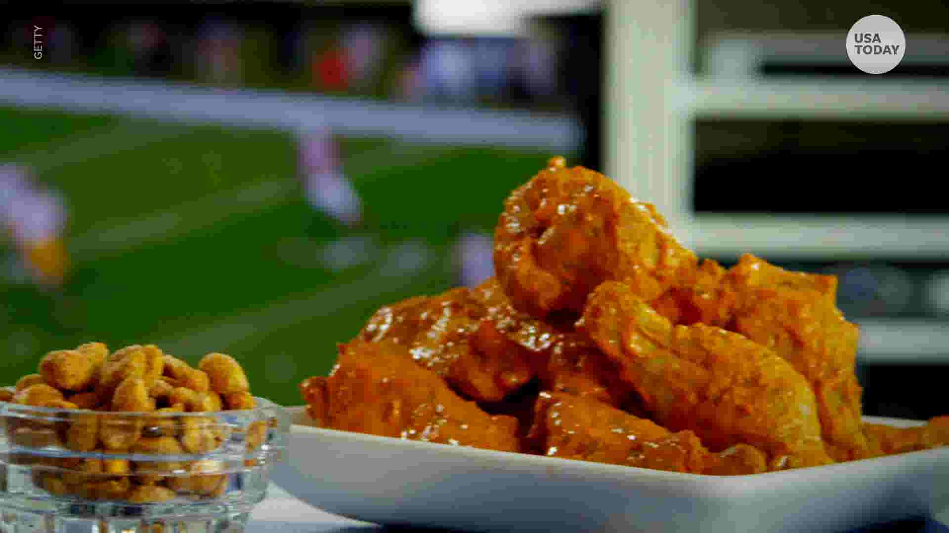 Chicken wings are what most Americans are expected to eat on Super Bowl Sunday