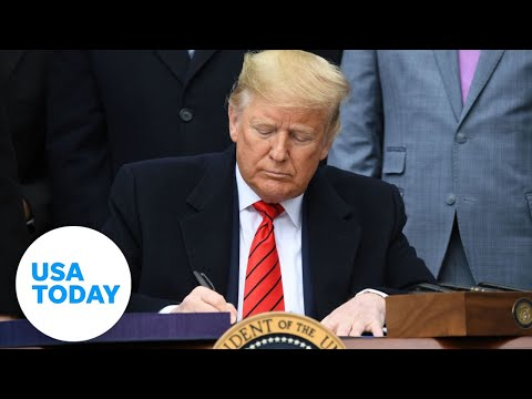 Donald Trump signs revised USMCA agreement with Mexico, Canada