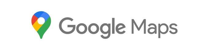The new Google Maps logo.