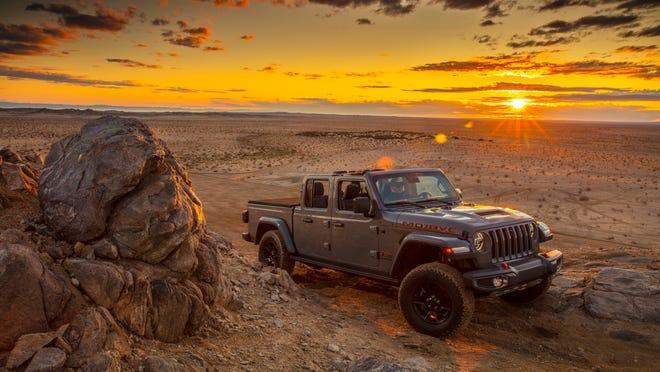 2020 Jeep Gladiator Mojave is Desert Rated, built for harsh terrain