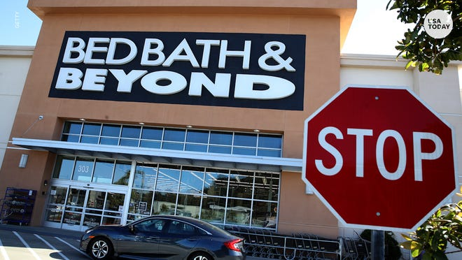 Bed Bath & Beyond stock drops after company says sales down
