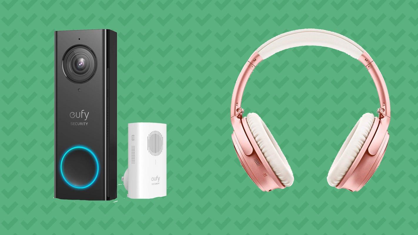 Bose headphones, Eufy smart doorbells, and more