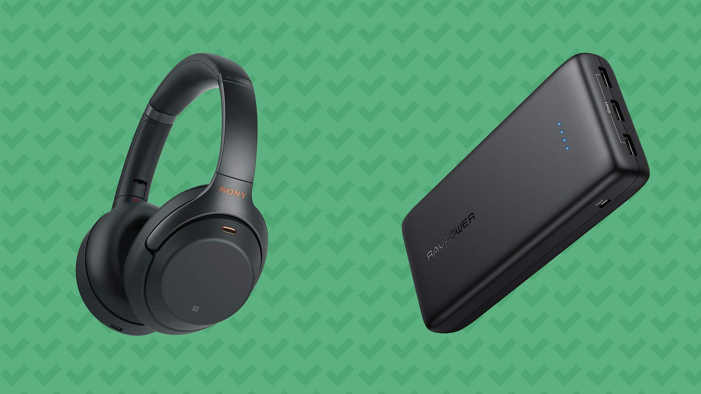 Get Sony headphones, RAVPower chargers, and more