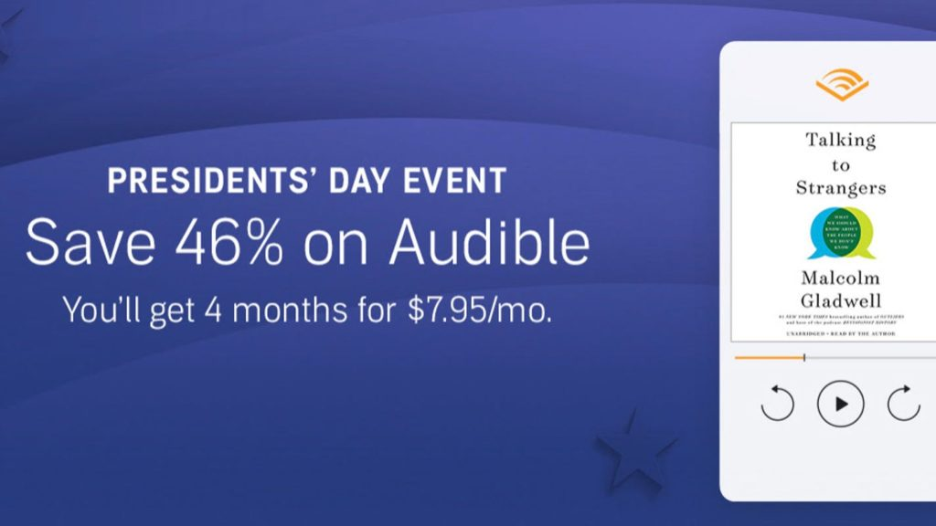 Get an Audible subscription for a major discount