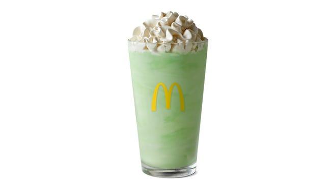 McDonald's announces Feb. 19 return of mint shake