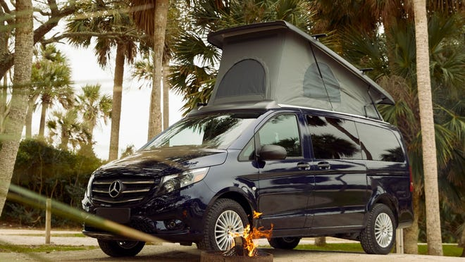 Mercedes-Benz Weekender van revealed: Pop-up camper makes debut