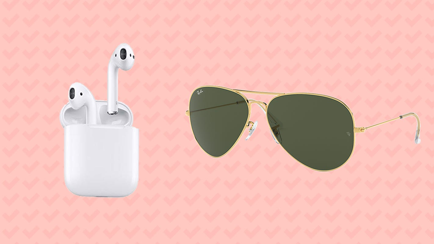 New markdowns on AirPods, Ray-Ban sunglasses, and more