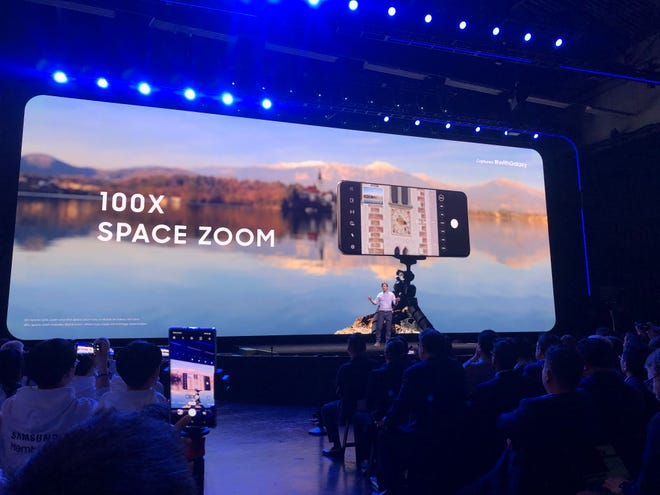 """Samsung marketing hype for """"100x"""" zoom"""