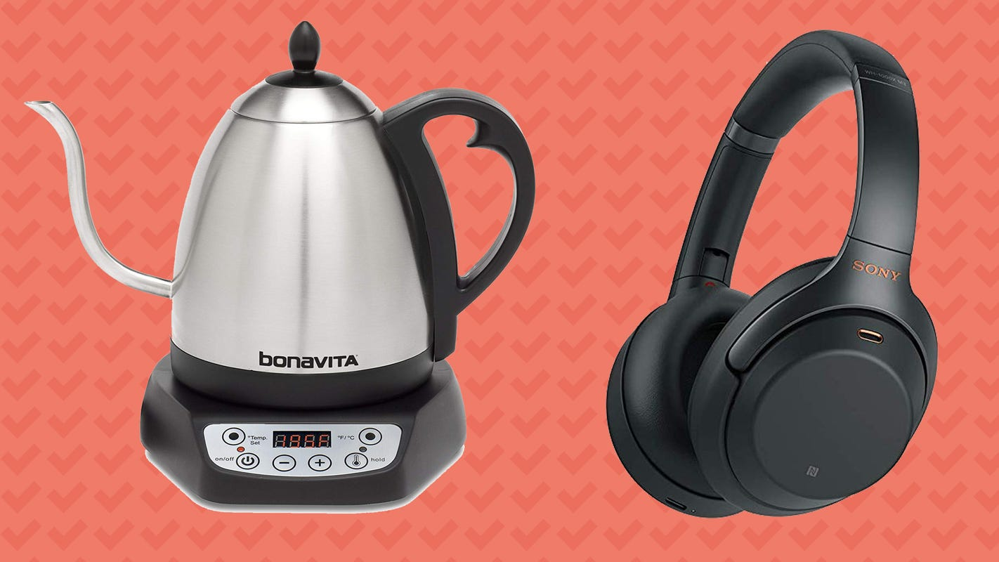 Score discounts on Sony headphones, electric kettles, and more