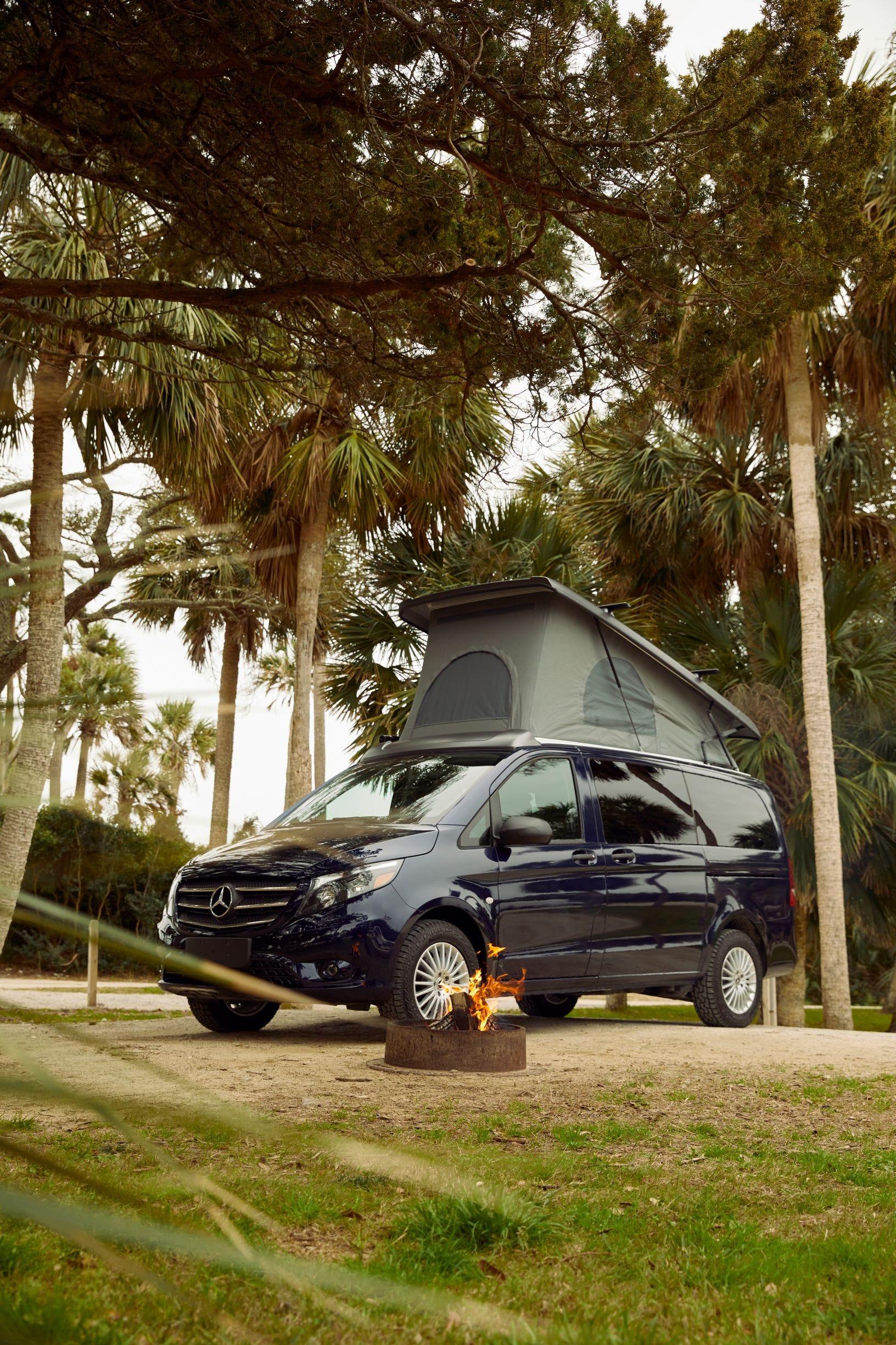See brand's first pop-up camper van