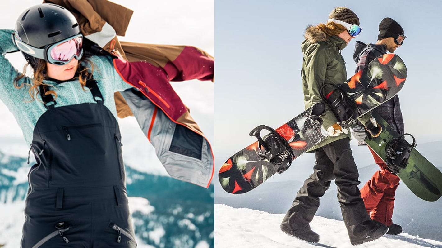 Snag amazing deals on ski, snowboard, and winter gear for a limited time