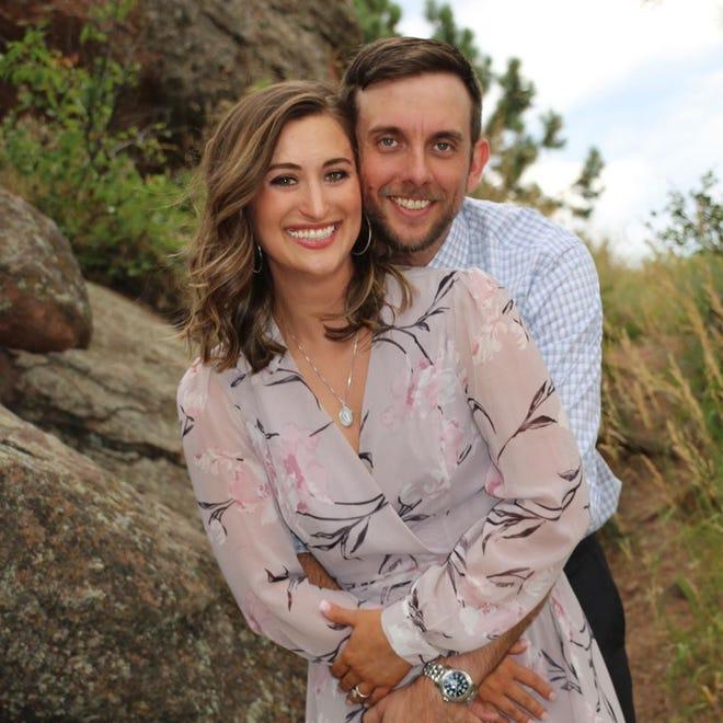 McKenzie Griffin and Dustin Wallis aren