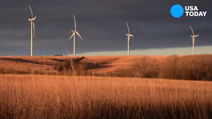 Wind turbines helped this farmer to retire