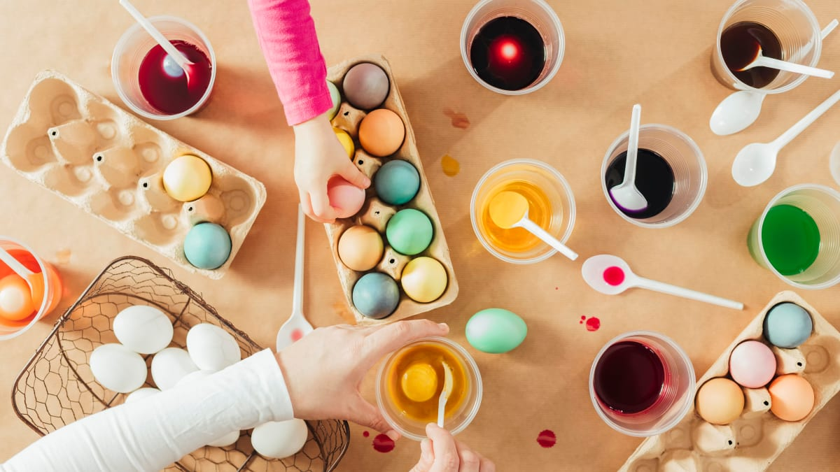 Fun, unique ways to decorate and dye Easter eggs
