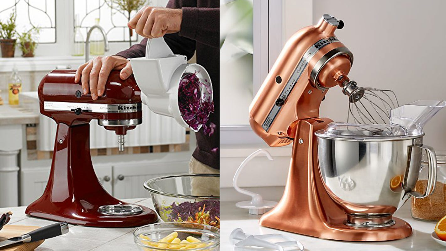 Get the best-selling stand mixer on sale in rare colors