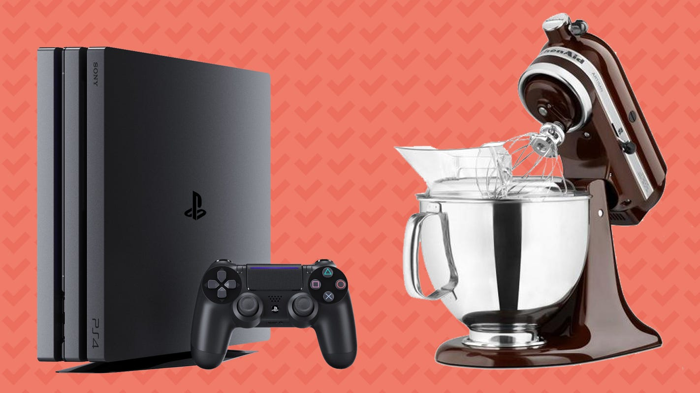 Save on Sony Playstation 4 Pro, KitchenAid Stand Mixer, and more