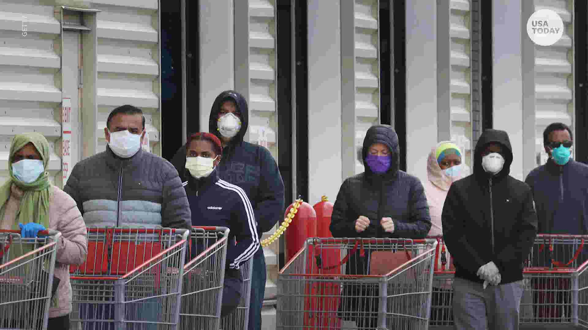 Face masks, limited food court options as Costco goes back to normal hours