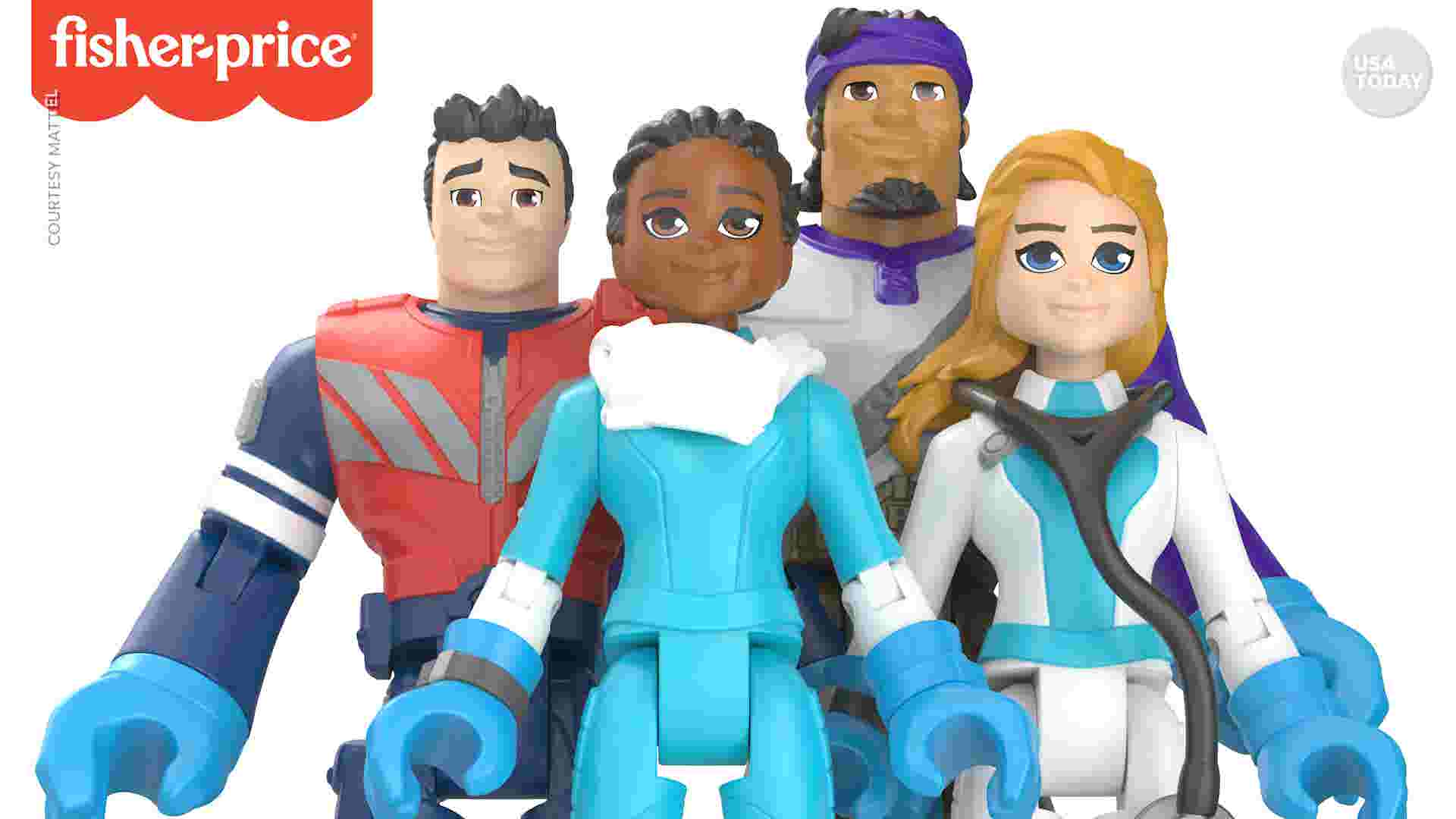 New action figures, toys to honor frontline heroes of coronavirus pandemic