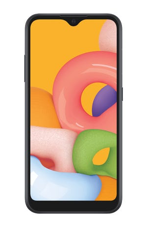 Samsung A01 sells for $109.99