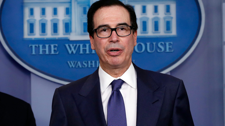 Steven Mnuchin says economy will rebound over the summer