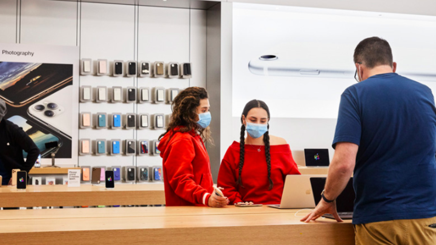 Apple is reopening some stores this week: Expect to wear a mask, have temperature checked