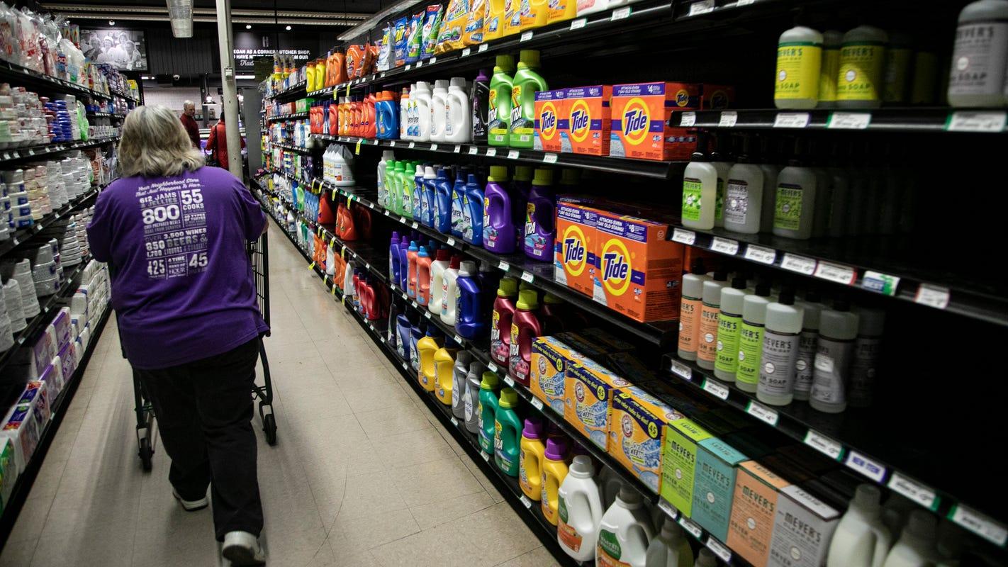 April food prices rose 4%, biggest hike since 1974