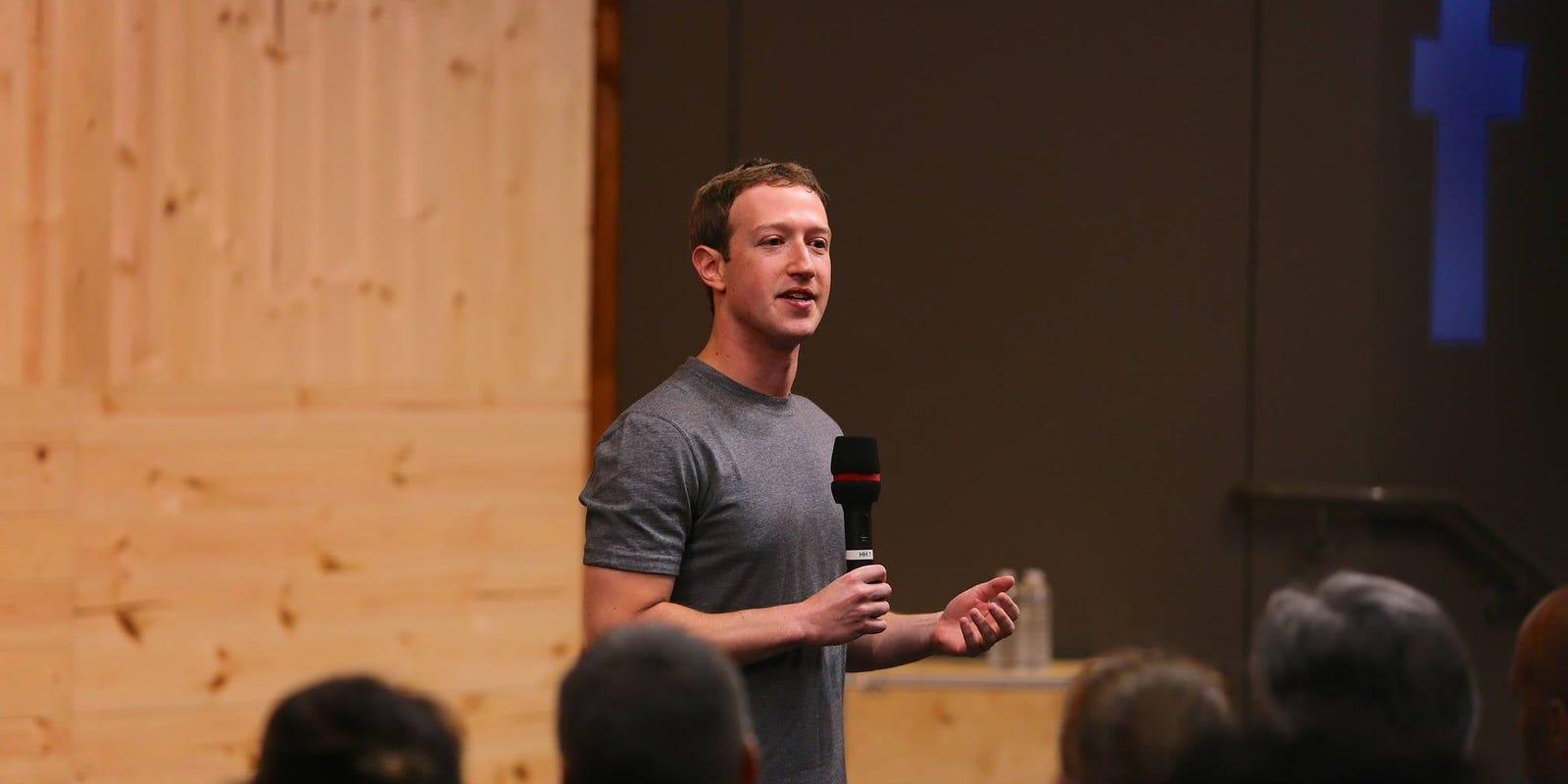 Facebook's Mark Zuckerberg defends how it handled Trump protest posts