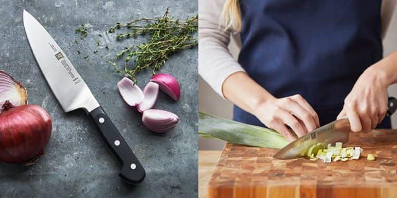 Get this super-sharp knife set at a major discount