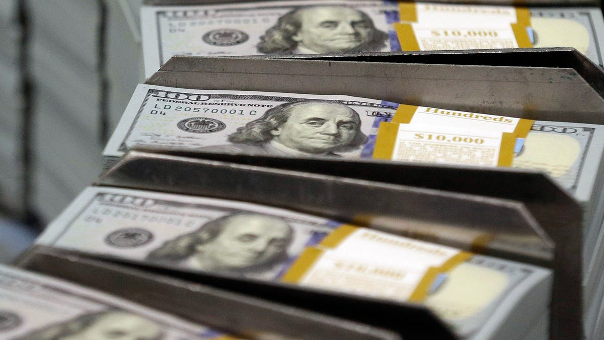 How the Fed is 'printing' dollars