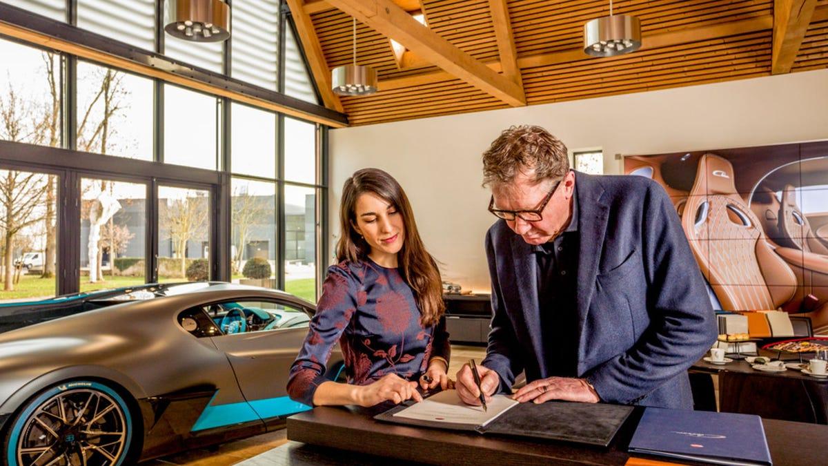How the ultra rich customized Bugatti's $5.4 million Divo car