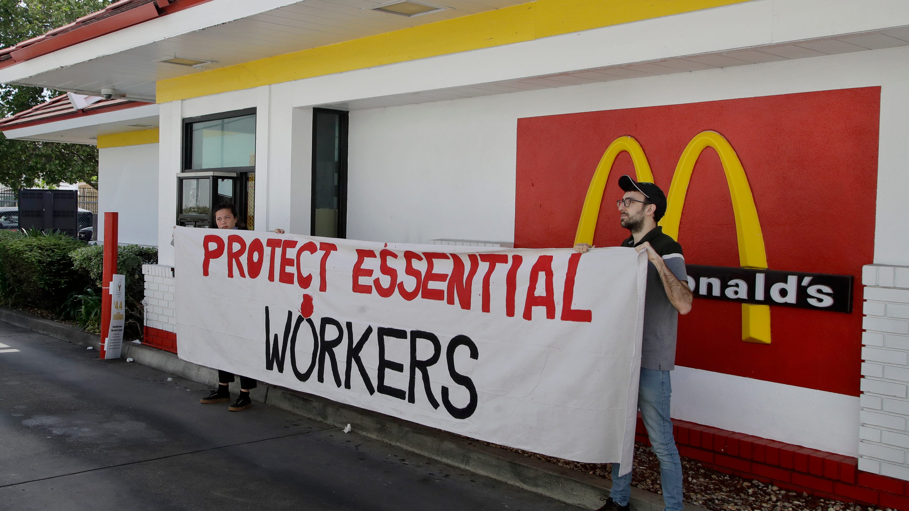 McDonald's cooks, cashiers plan national strike over COVID-19 safety
