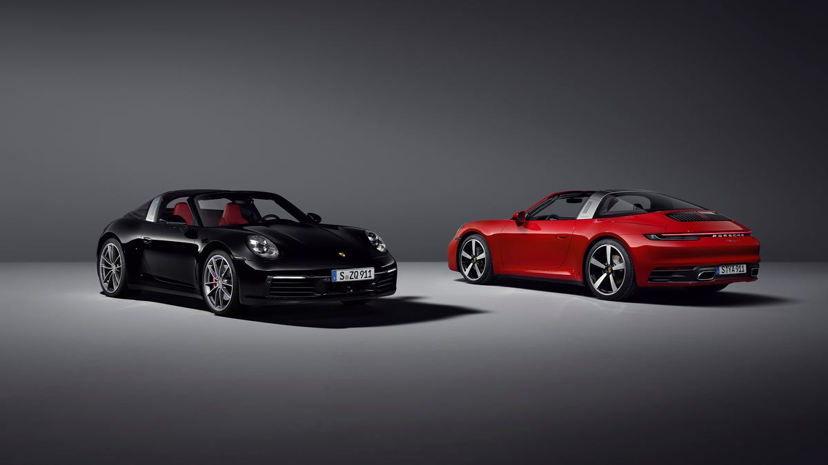 Porsche debuts two new cars: See the 2021 911 Targa 4 and 4S