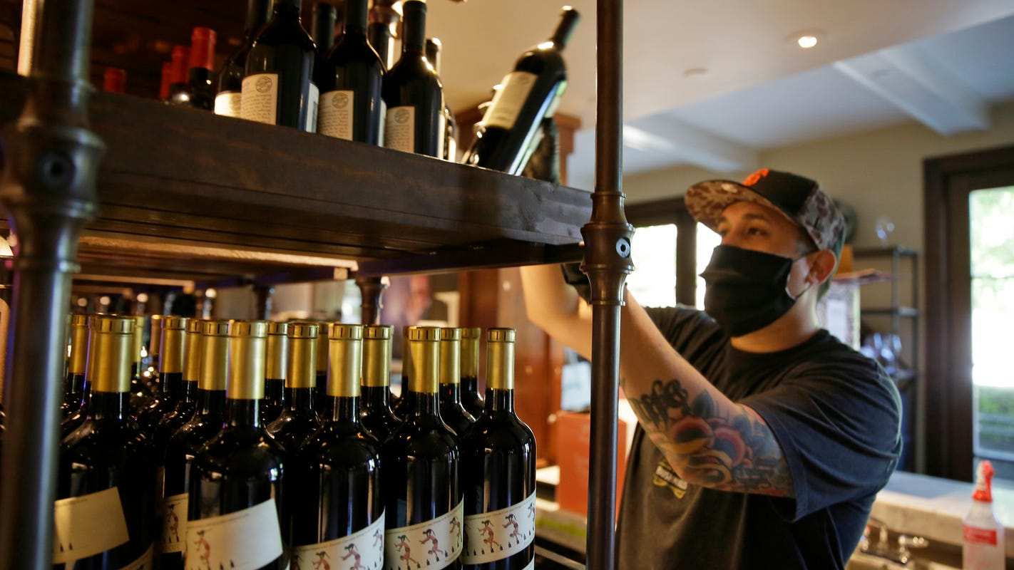 Shopping for wine online growing during pandemic