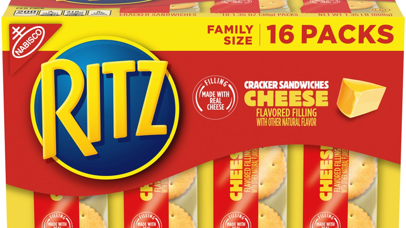 Some Ritz Cheese Cracker Sandwiches recalled because they contain peanut butter