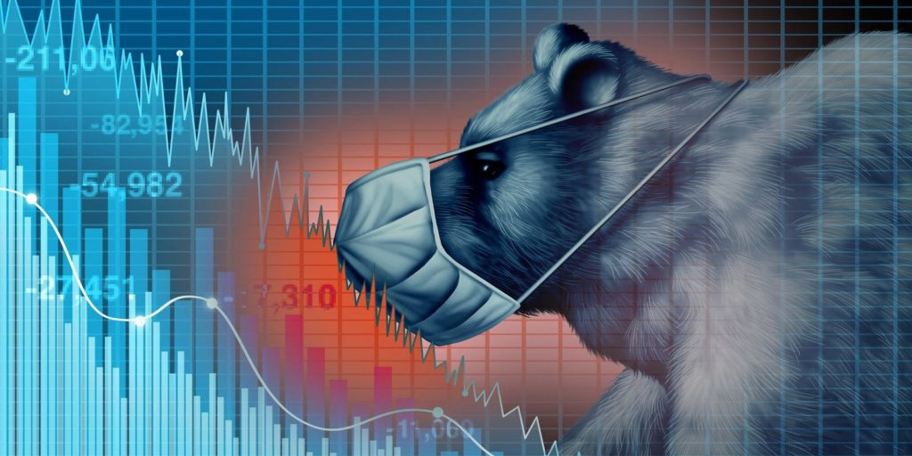 Stocks fall on renewed pessimism about COVID-19's harm to economy