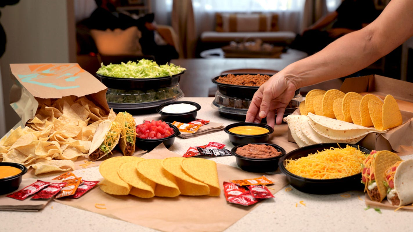 Taco Bell has all the fixin's in new At Home Taco Bar