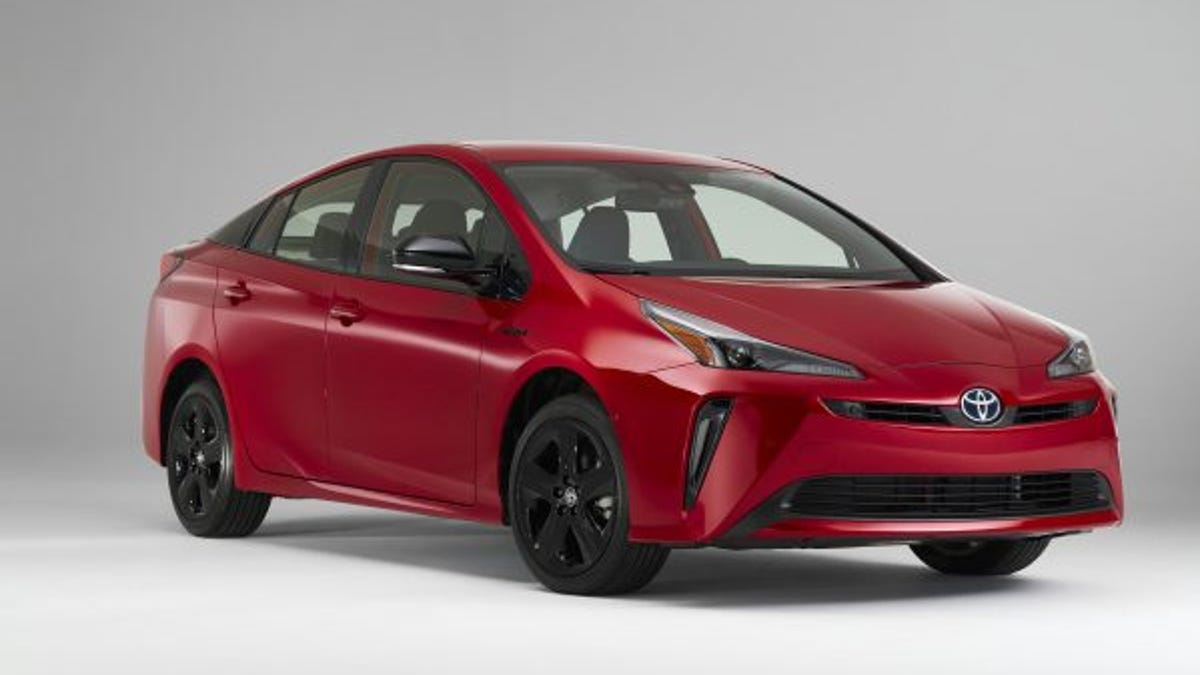 Toyota Prius marks 20 years in the US with a special edition car