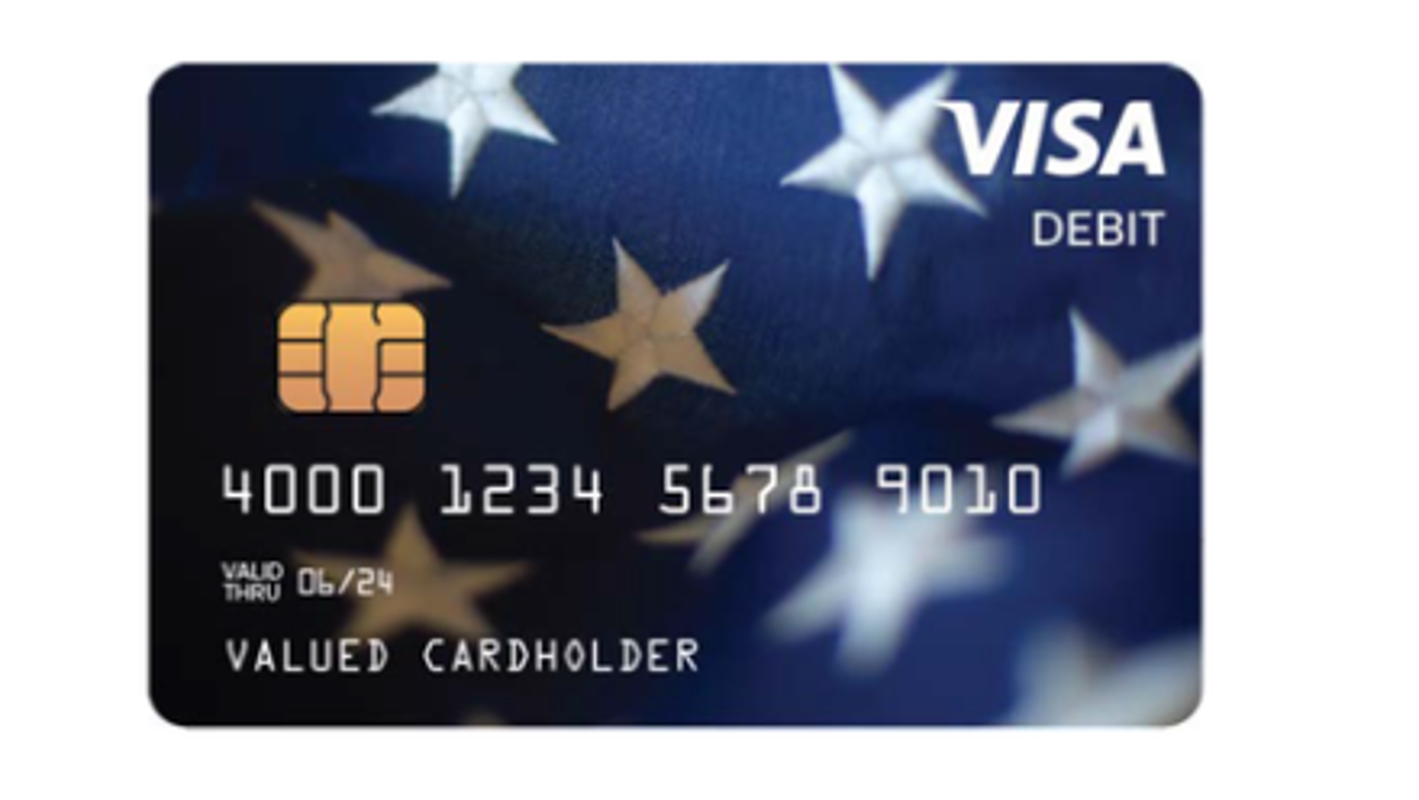 Visa debit cards arriving by mail have stimulus money loaded on them