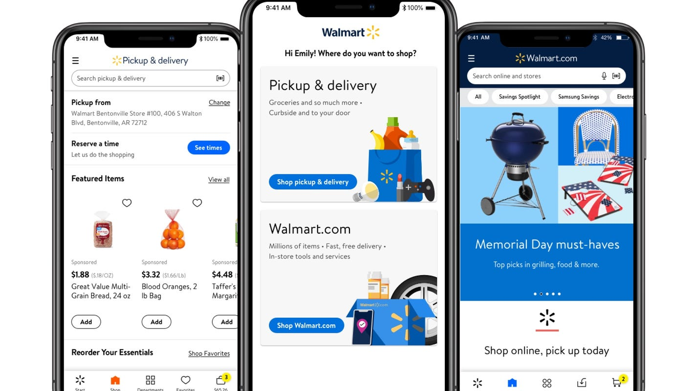 Walmart curbside pickup now includes televisions, bikes, other items