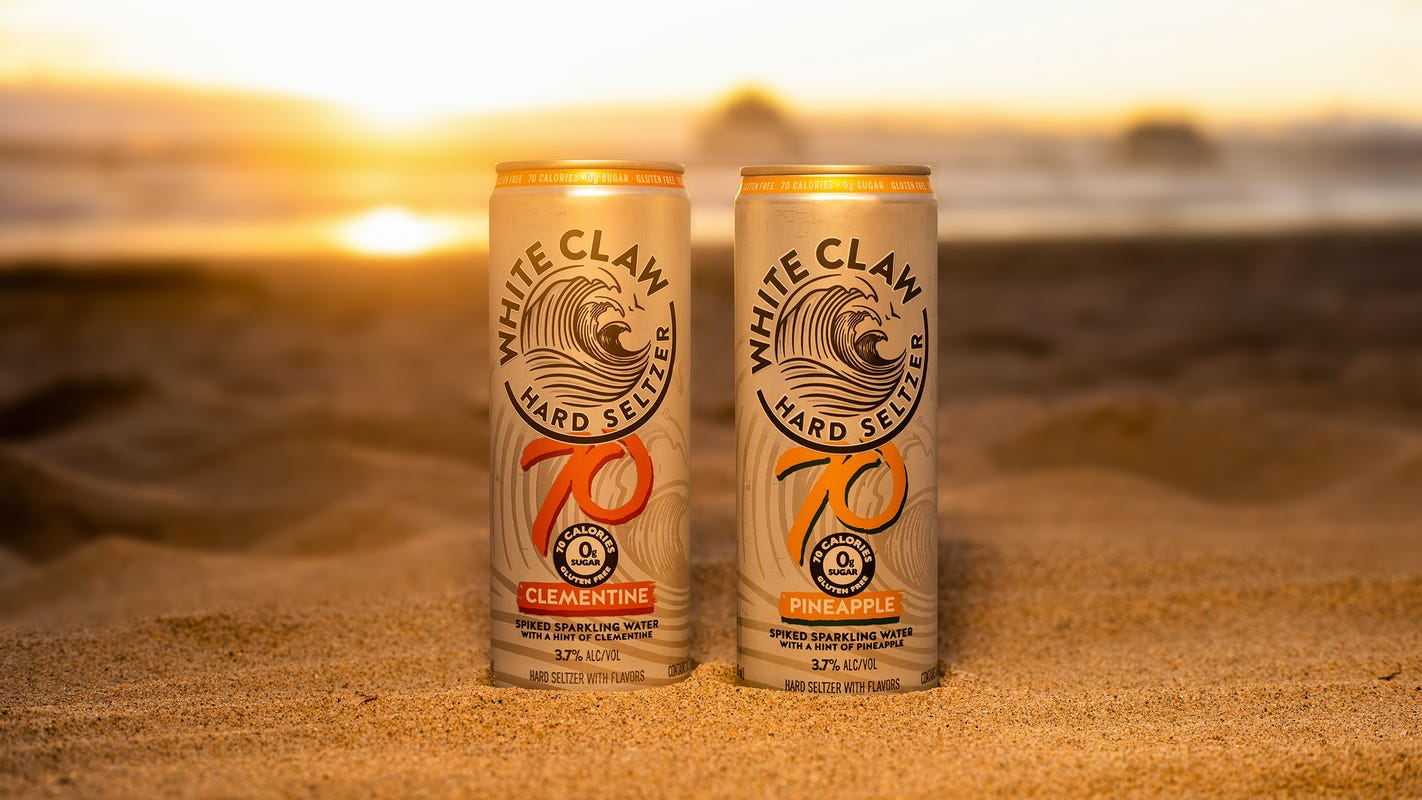 White Claw releases pineapple and clementine flavors for the summer