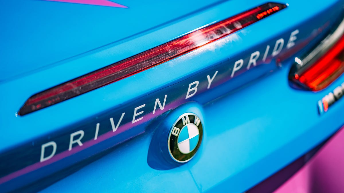 BMW celebrates Pride month with car show broadcast, concert