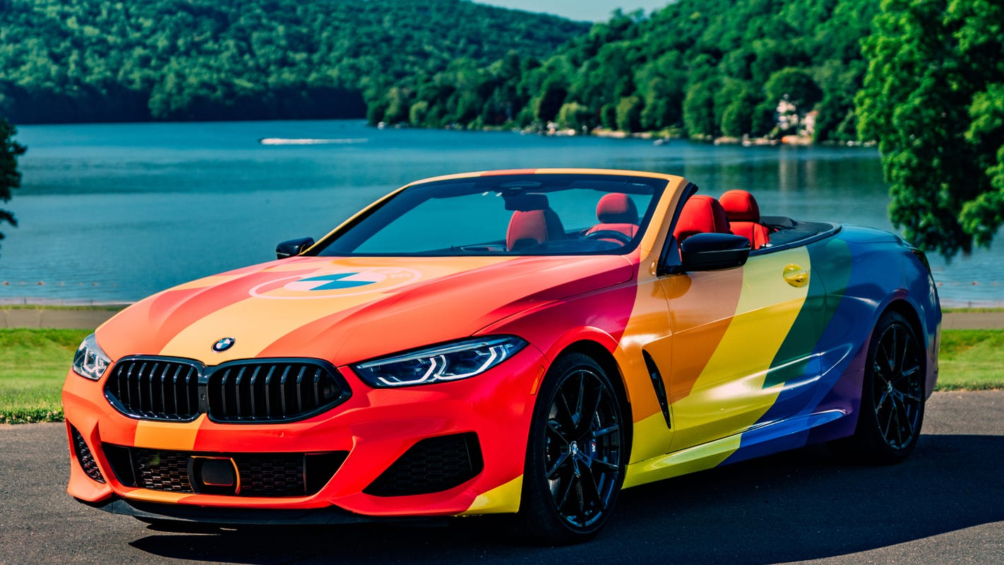 BMW celebrates Pride month with car show broadcast, musical performances