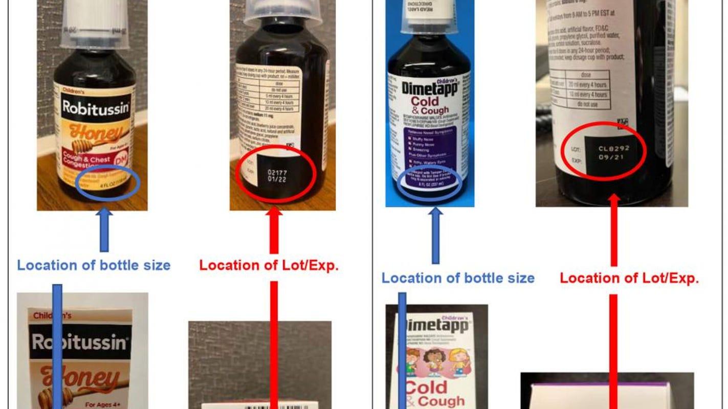 Children's cough medicine recall 2020: Select Robitussin, Dimetapp recalled for potential overdose risk