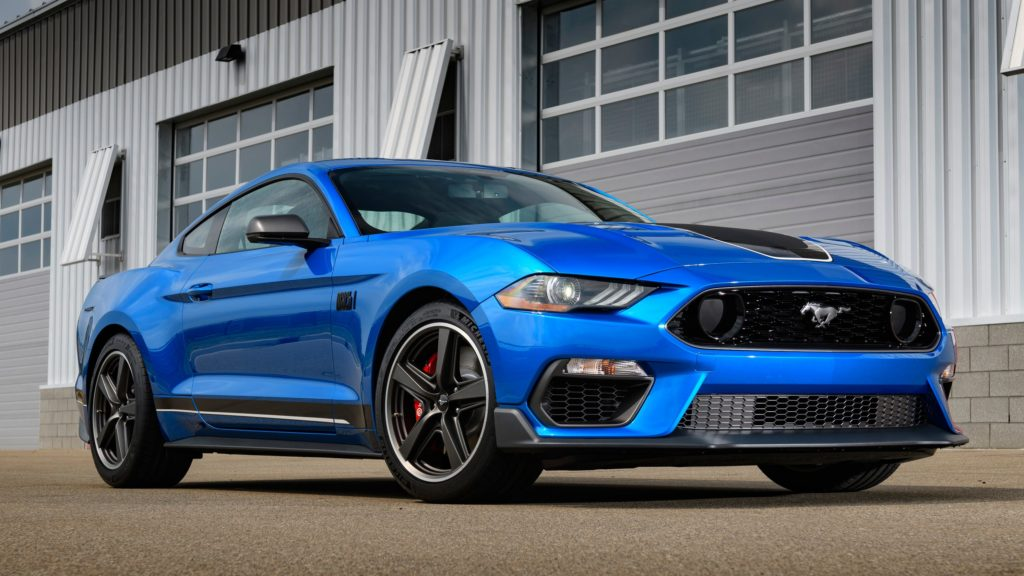 Ford Mustang Mach 1 to return and it's getting some Shelby features
