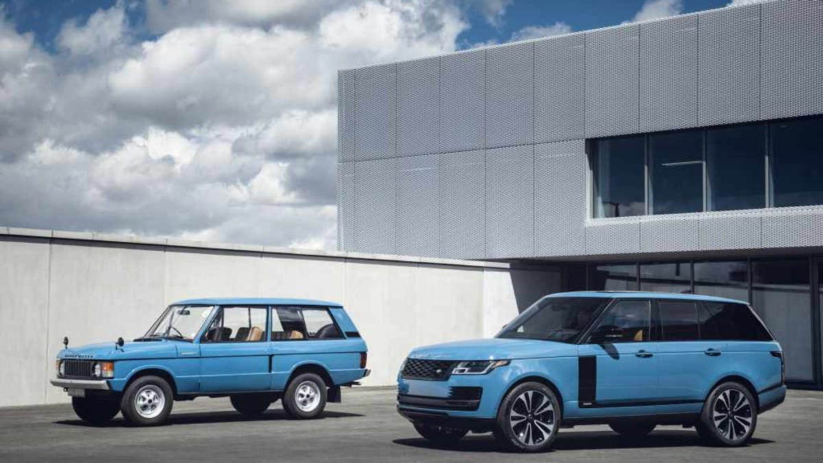 Range Rover turns 50: New golden anniversary SUV harks to the 1970's original
