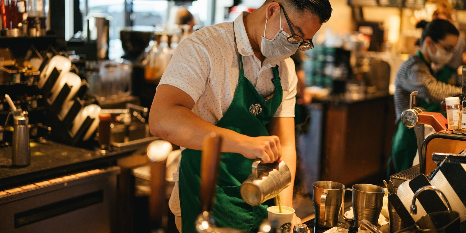 Starbucks doubles back - employees allowed to wear Black Lives Matter T-shirts and pins