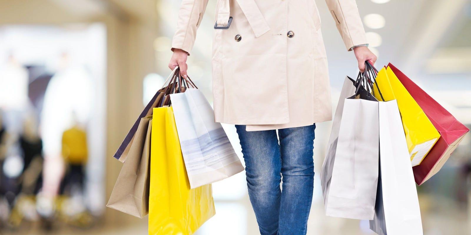 Walmart, Best Buy, Target on list